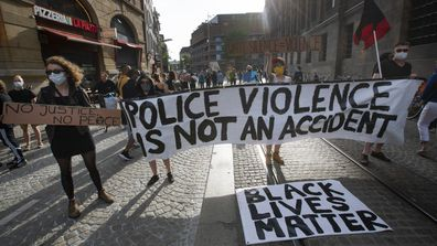 George Floyd protests, Amsterdam