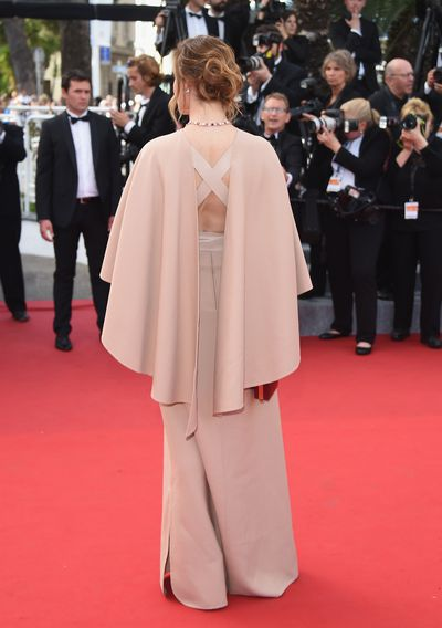 <p>Clotilde Courau in Valentino Haute Couture&nbsp;<br></p>