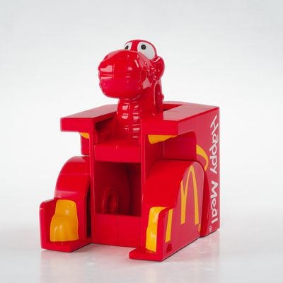 Dino Happy Meal Box Changeable (McDonald's): 1991