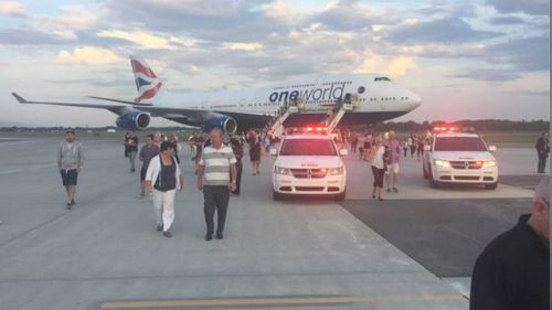 British Airways 747 forced to land after bomb scare