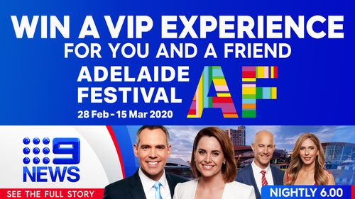 Win a VIP experience at the Adelaide Festival