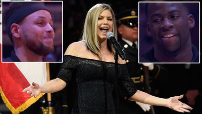 Star Mangled Banner: Watch Fergie 'butcher' national anthem