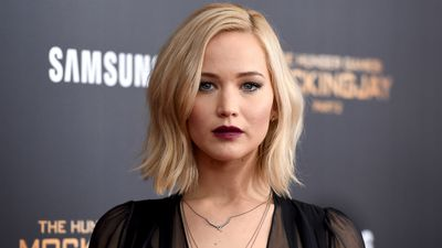 Jennifer Lawrence says producer put her in 'naked lineup'