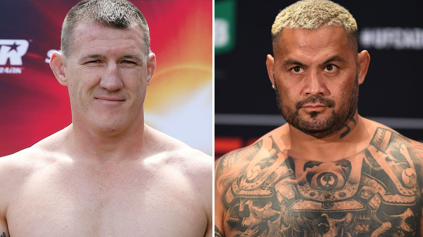 Paul Gallen eyes off potential Mark Hunt superfight