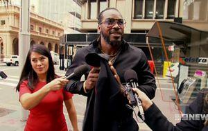 Jury told Gayle now scared around women
