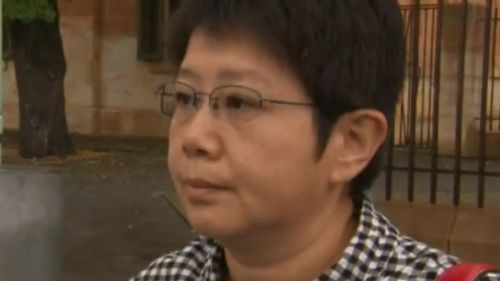 The customer admitted to biting and choking the Nice Fish staffer. (9NEWS)