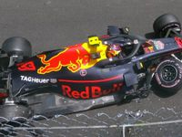 Ricciardo stars as Verstappen crashes out
