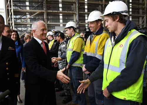 5000 direct jobs nationally will be created, along with 10,000 indirectly. A great win for South Australia. (AAP)