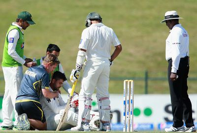 <b>The bouncer is the most brutal weapon in a bowlers' arsenal and can fell a batsmen at any time - no matter how they are playing. </b><br/><br/>Pakistan opener Ahmed Shehzad became the latest bumper victim when he was struck in the helmet by a ball from New Zealand seamer Corey Anderson, which fractured his skull. <br/><br/>Shehzad was on 176 after plundering the Kiwi attack all day in the First Test before he was felled and in the process hit his stumps to be dismissed. <br/><br/>Click through to check out the sickening blow and other brutal bouncer blows from recent years. <br/>