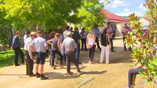 Yarramalong Valley residents plead their case to keep the Church of Scientology and their controversial rehab centre out of their backyard. (A Current Affair)