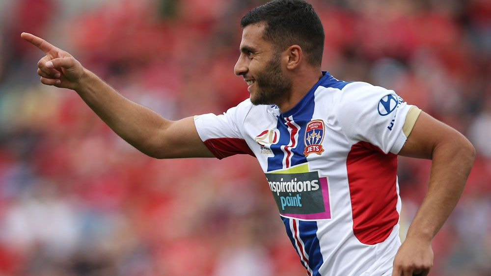Newcastle continue good A-League run with win over Adelaide