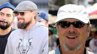 Leonardo DiCaprio and Jack Nicholson