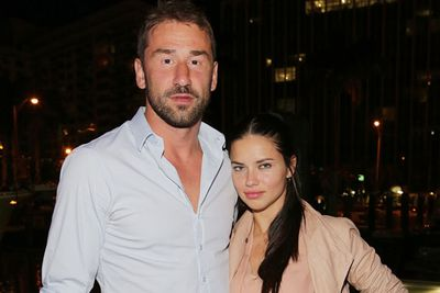 This one came as a total shock to TheFIX. <br/><br/>After five years of marriage, Victoria's Secret model Adriana Lima and her NBA player husband Marko Jaric ended their relationship. Which means Miss Lima's a single lady (much to every hot-blooded males' delight).  <br/><br/>And although we've never called Adriana dowdy, she did lack a certain spark on the red carpet when paired with her hubby...