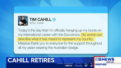 Social media reacts to Tim Cahill's retirement  from international football