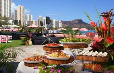 The Royal Hawaiian's luaus are legendary