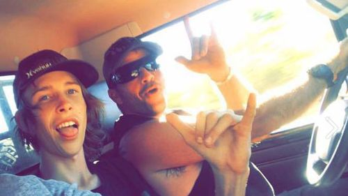 Mr Williams and Mr Bryce-Maurice on an earlier trip. (Facebook)