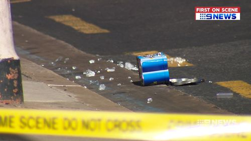 Detectives spent today combing the scene for evidence.