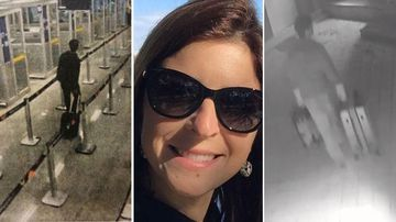 Cecilia Haddad's alleged killer on CCTV