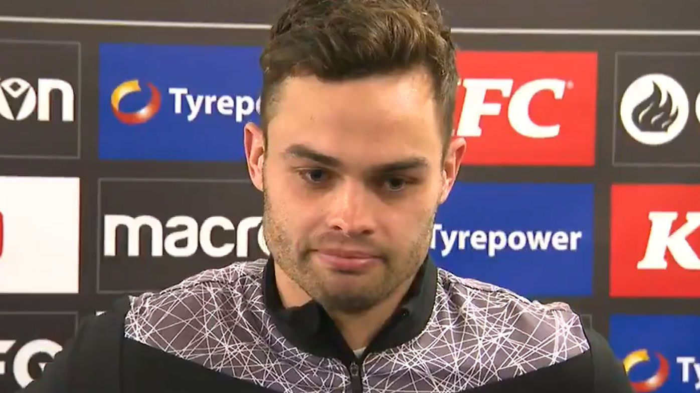 Port Adelaide star Karl Amon's emotional response to racism question