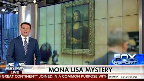 Fox News anchor accidentally credits Leonardo DiCaprio with painting the Mona Lisa