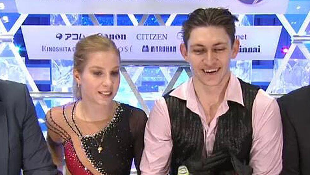 Australian figure skaters Ekaterina Alexandrovskaya and Harley Windsor claim Grand Prix Final