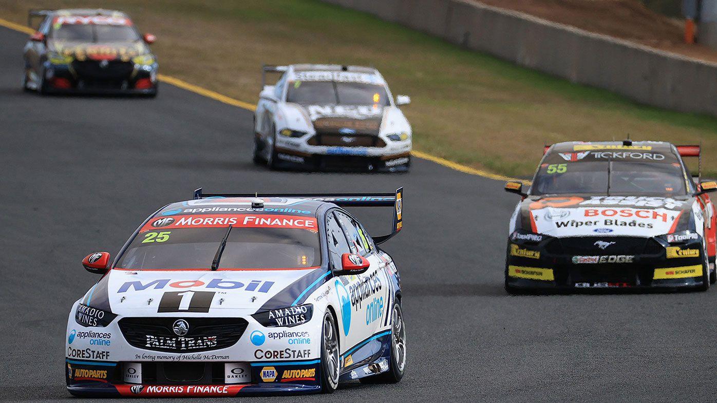 Chaz Mostert in action at Sydney Motorsport Park.