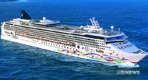 Kay claims she fell overboard on the cruise ship Norwegian Star.