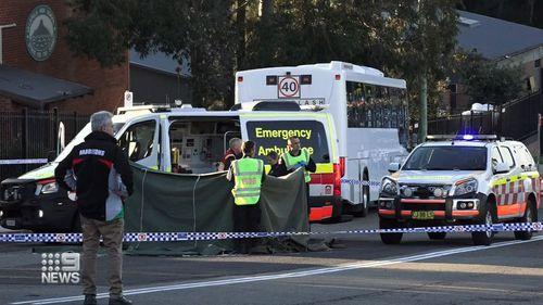 Zoei was hit outside her school in Ulladulla on the NSW south coast.