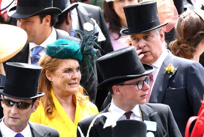 Fergie and Andrew attend Royal Ascot day four together