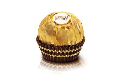 Ferrero Rocher: About a teaspoon of sugar