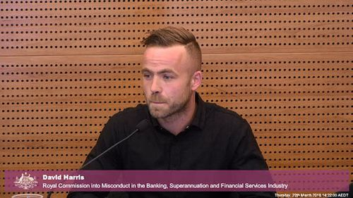 British tradie David Harris, 30, admitted his gambling problem to Commonwealth Bank after accruing thousands in debt, only to be given a credit card limit increase by the lender. Picture: FSRC.