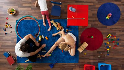 <p>Once you have kids, it's likely your much-loved hours of retail therapy are scaled back to junior store and supermarket visits.</p> <p>You longingly pass by boutiques with impatient children in tow, fantasising about browsing for knick-knacks or trying on thing or two. Online shopping at night once the kiddies are asleep is dreamy. That is if you haven't passed out with exhaustion on the couch.</p> <p>So next&nbsp;time you're shopping for junior - think outside the box and grab something for yourself too. Go on. We've amused ourselves by pulling together&nbsp;sweet stuff that's made for kids - but sweeter for you...</p>