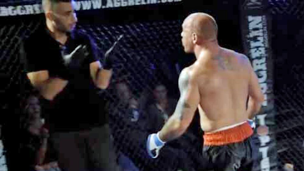MMA fighter Wilhelm Ott punches referee after submission