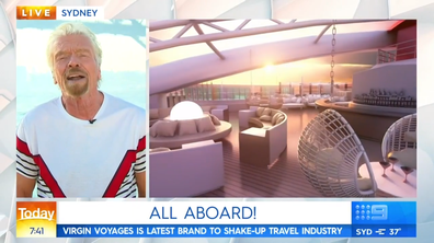 "Sir Richard Branson reveals what ""Sailors"" can expect on his anti-cruise ship ahead of the launch of Virgin Voyages."