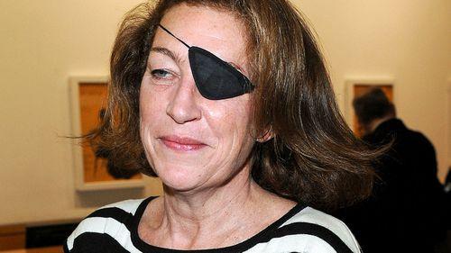 War reporter Marie Colvin.