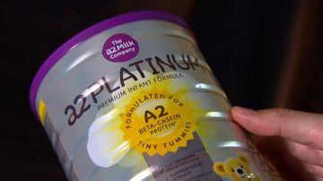 Chinese baby formula customers who buy Australian products, only to sell them overseas, are sending up to 30,000 packages of the items per day.