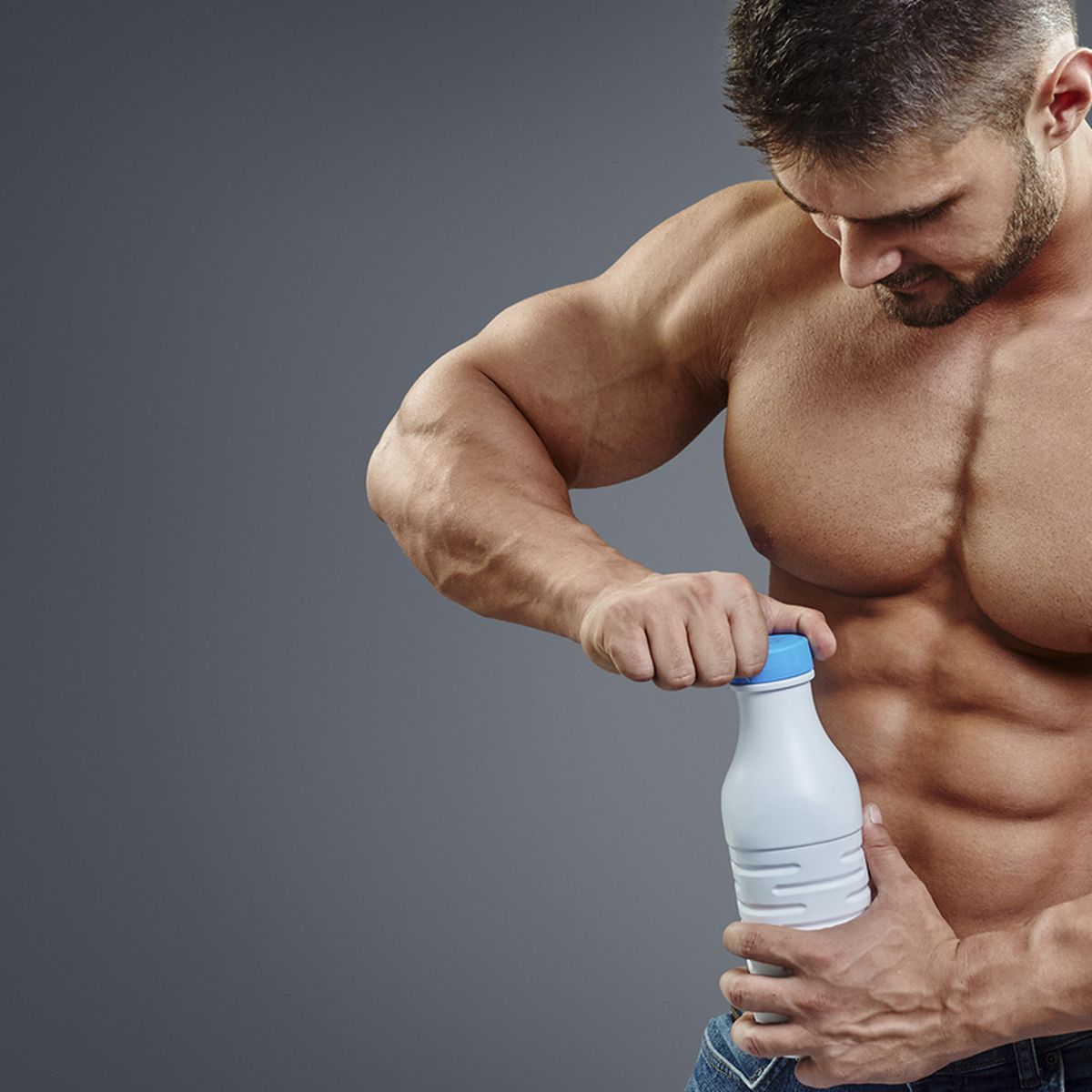 Four litres of milk a day: Does the internet's classic muscle-building tip  actually work? - 9Coach