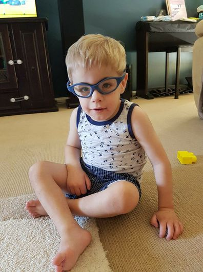 Lucas Tiefel from Orange, NSW, has a rare condition meaning he'll die before he's 20, called Sanfilippo Syndrome.