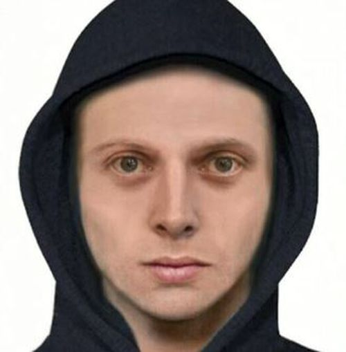 Police have released a computer generated image of the suspect.