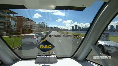 Driverless cars will be trialled on Perth roads.