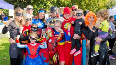"<p>Hundreds of people taken to the track in masks, capes and tights as part of the charity Superhero Fun Run in Melbourne today.</p><p>The fun run, which included a 4km and 8km course, took place in the Melbourne Botanical Gardens and helped kick off World Autism Month.</p><p>The event, organised by autism services provider Irabina, aimed to celebrate the ""extraordinary abilities of people living with autism"" while raising tens of thousands of dollars for early intervention services for children with autism.<br /><br /><strong>Click through to see some snaps of aspiring superheroes, young and old.</strong></p>"