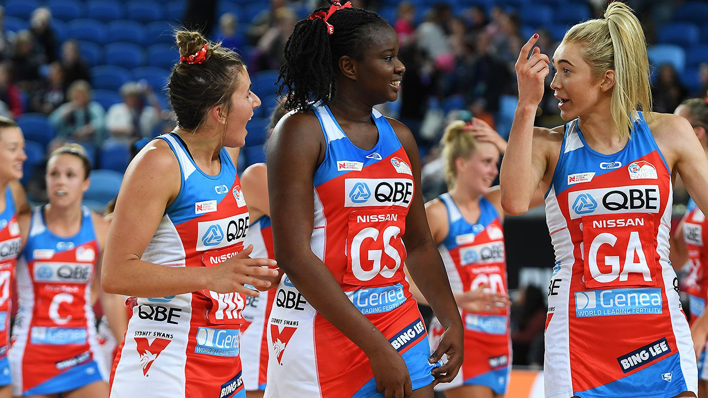 NSW Swifts go top after winning first ever Super Netball clash against Vixens