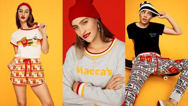 McDonald's x Peter Alexander: Pyjama sets