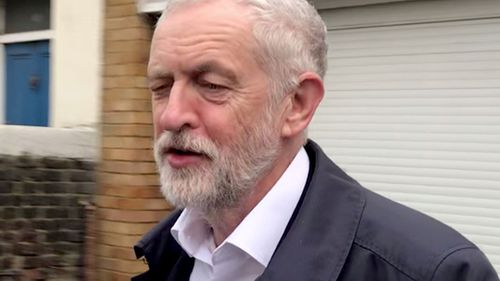 UK Labour Leader Jeremy Corbyn.