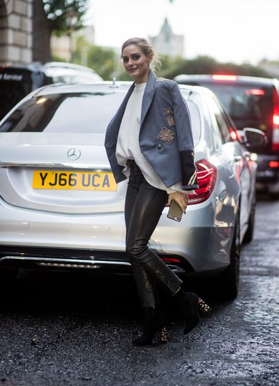 Olivia Palermo - sleek and sophisticated.