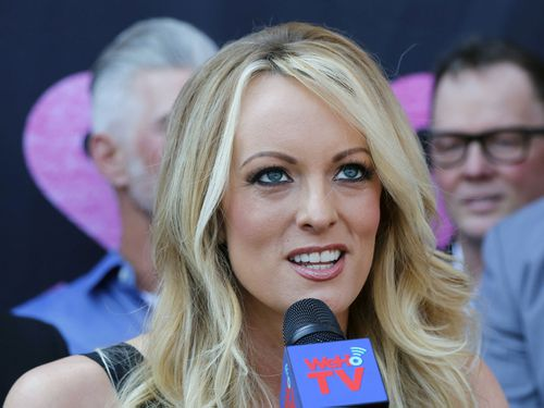 Stormy Daniels addresses her alleged affair with Donald Trump
