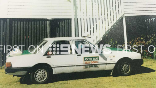Raymond Peter Mulvihill's taxi. (Image: Supplied)