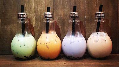 4. Lightbulb drinks