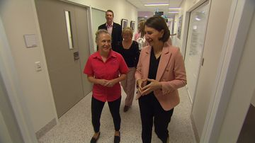 NSW Premier Gladys Berejiklian announced additional funding for six new breast care nurses across the state.