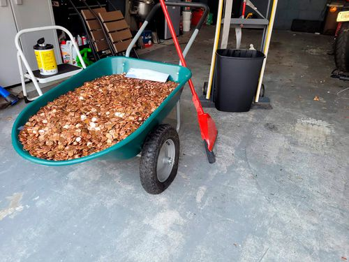 Coin firm pays it forward after Georgia man paid in pennies